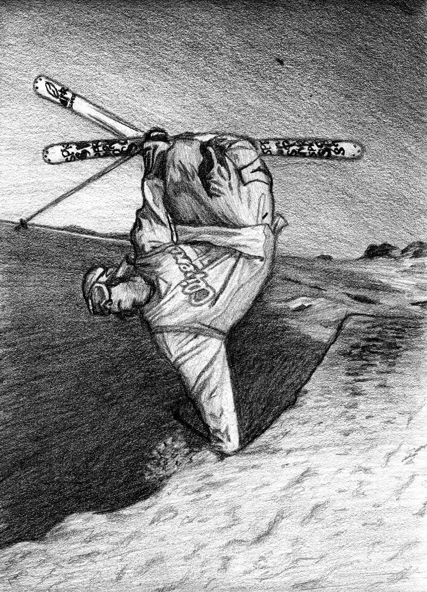 Sketch of peter olenick