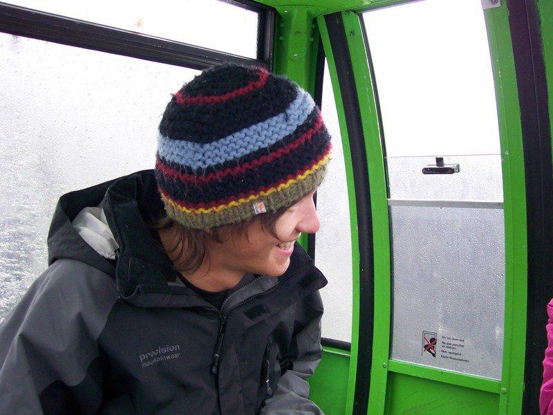 Me, kicking it on a gondola