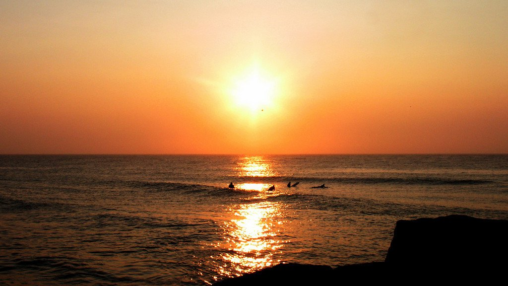 Sunrise in New Jersey