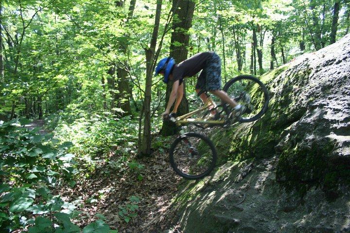 A lot steeper than it looks