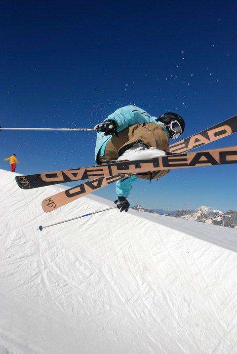 Summer skiing