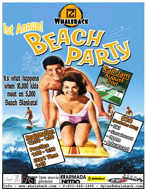 Beach Party Flier