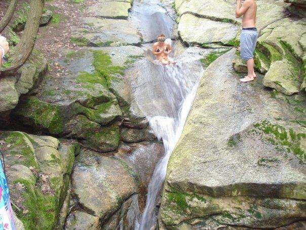 Rock slides