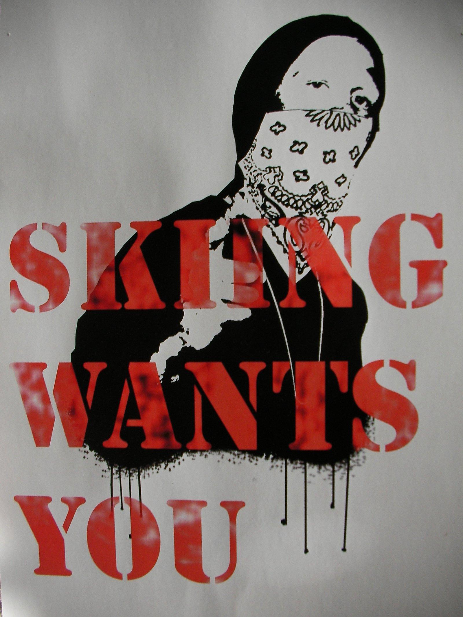 Skiing wants