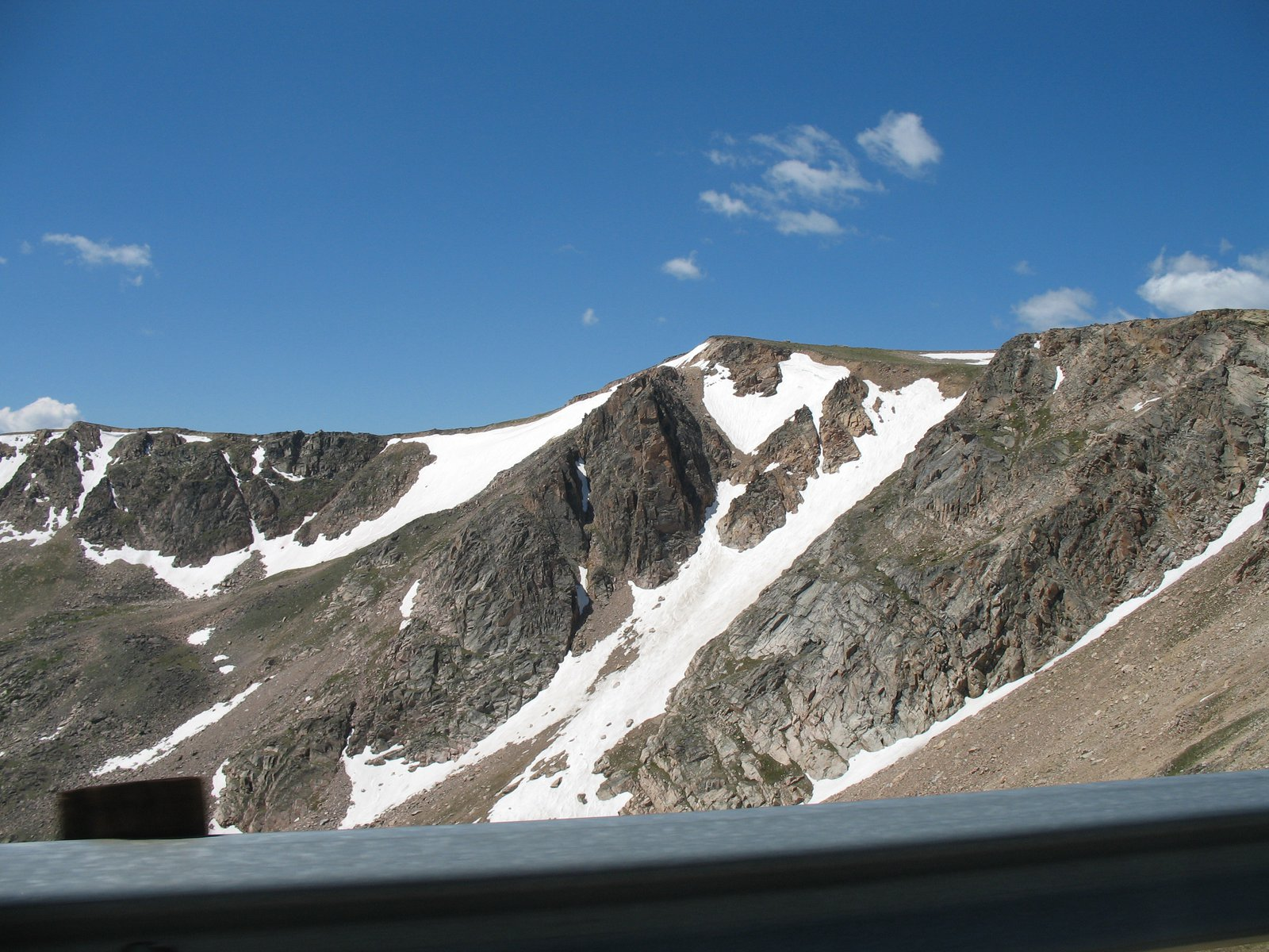 Beartooth pass garner headwall