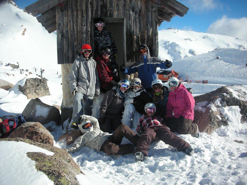 Sassy skiers