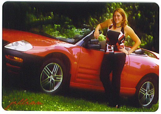 Me and my car another senior pic