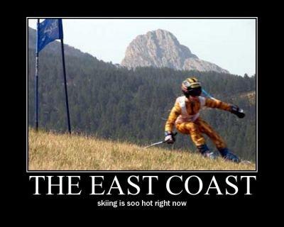East coast Skiing