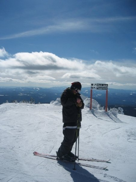 Deciding the route at Big White