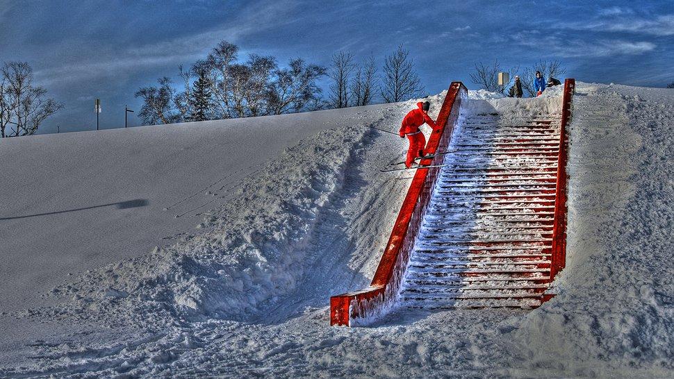 Antoine Caron - Ledge Rouge des chutes