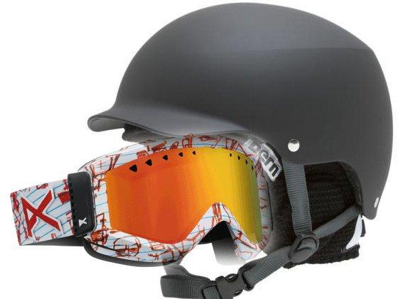 New helmet n goggle setup