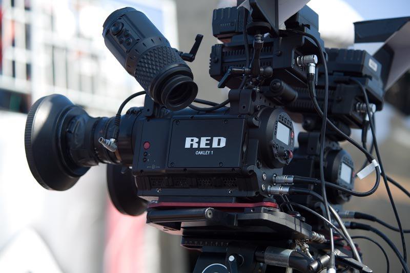 RED 3d setup