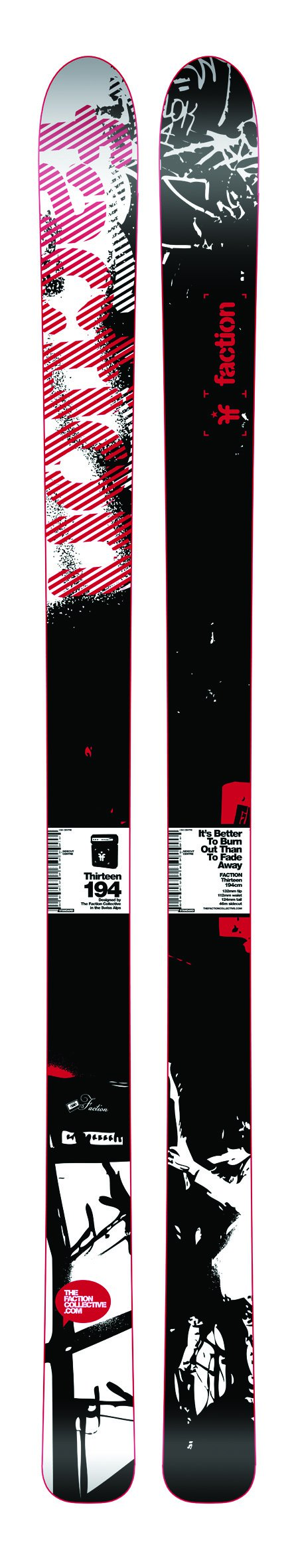 The Faction line of skis for 08/09 - 1 of 5