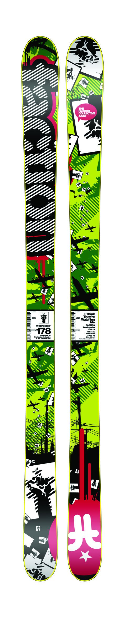 The Faction line of skis for 08/09 - 5 of 5