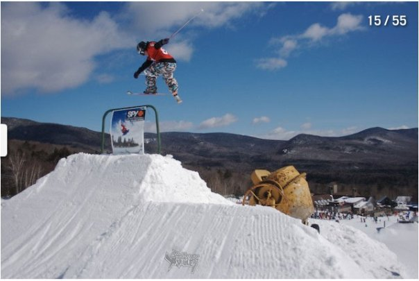 180 over chair lift stall