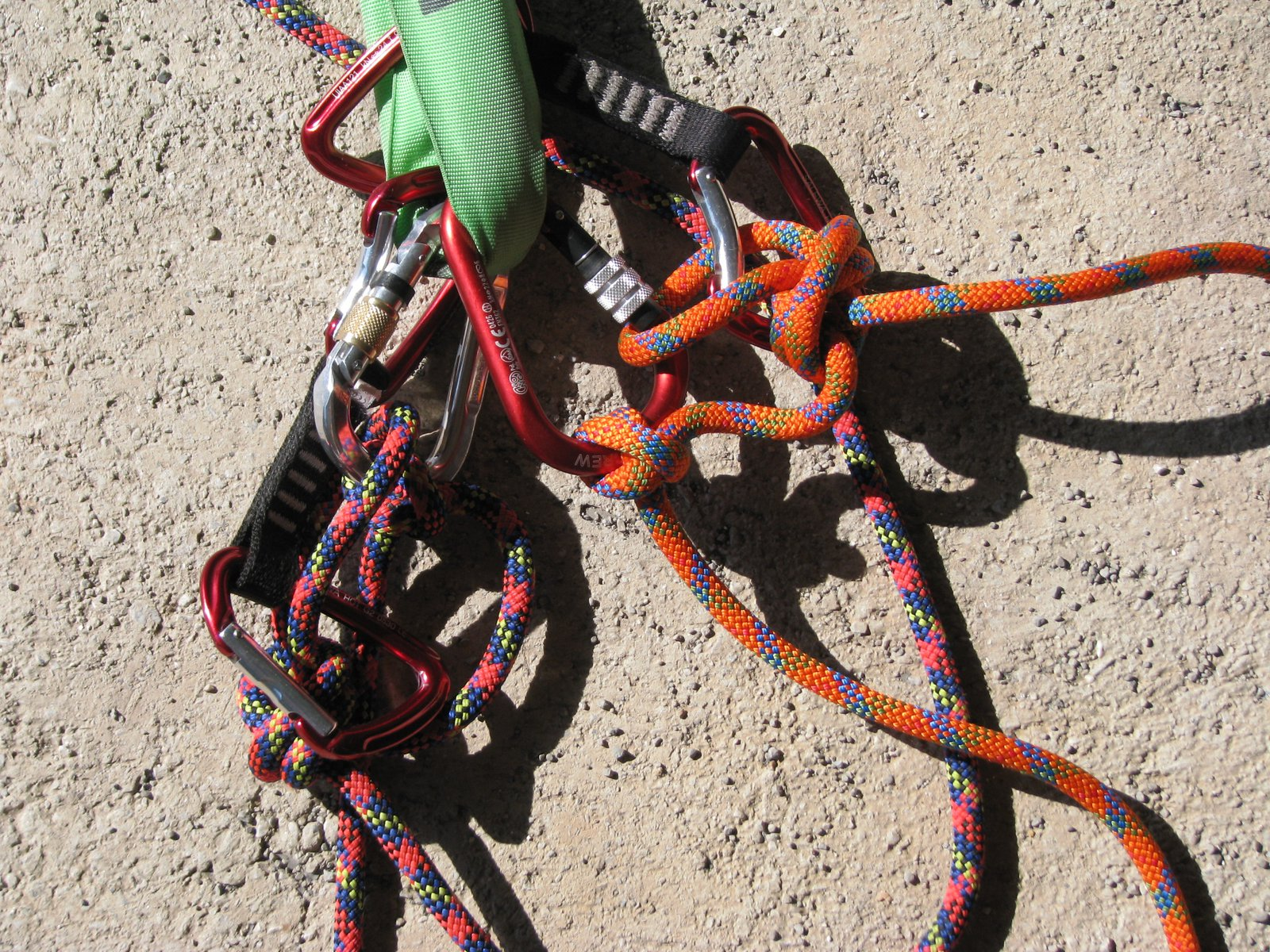 Anchor System for the huge Swing