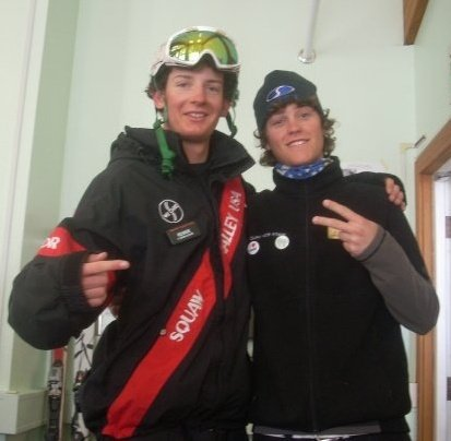 Me and Lucas in squaw kids