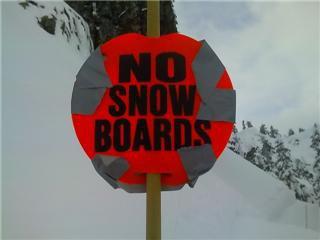 No Snowboards