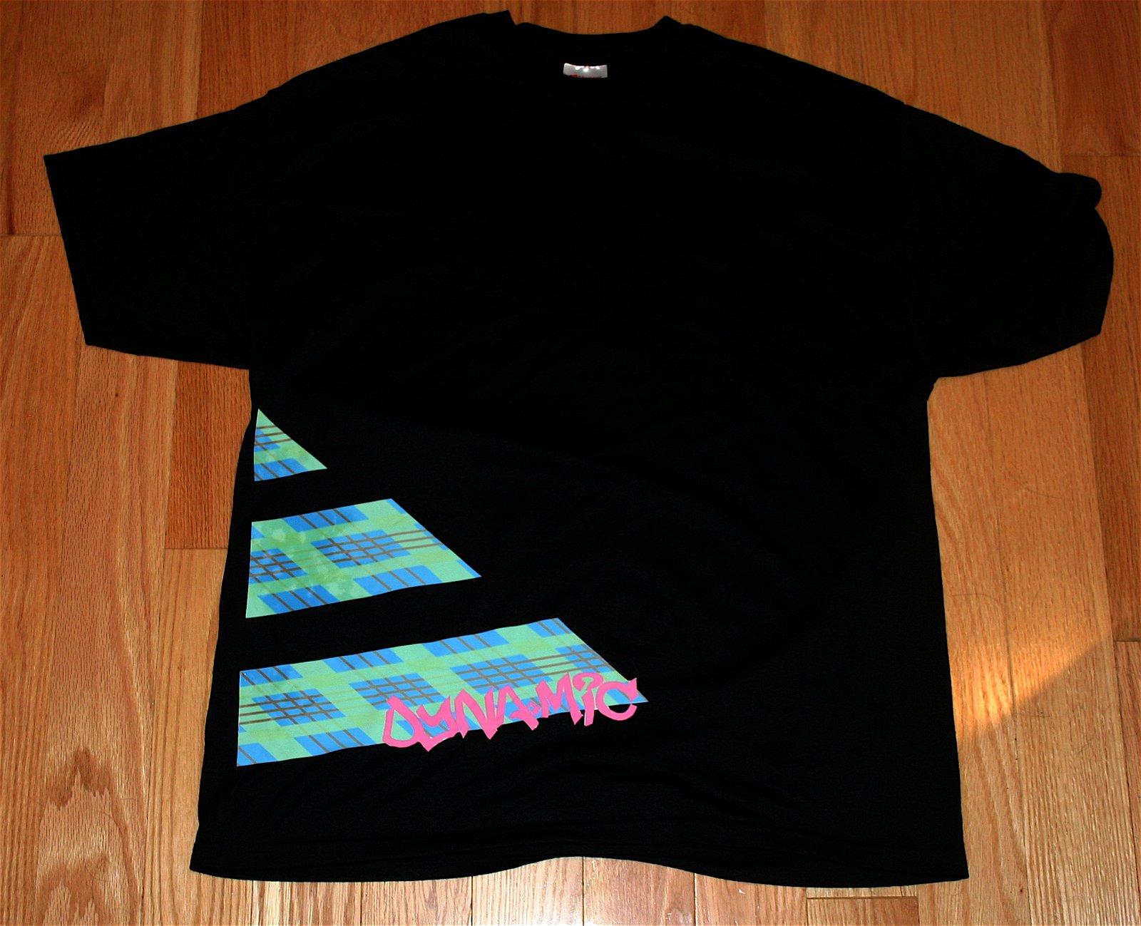 First print of shirt