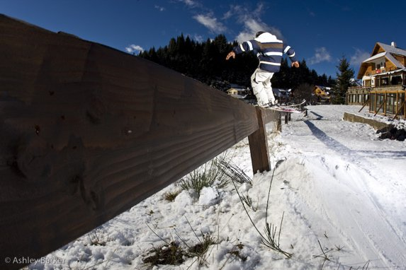 Grinding the rail