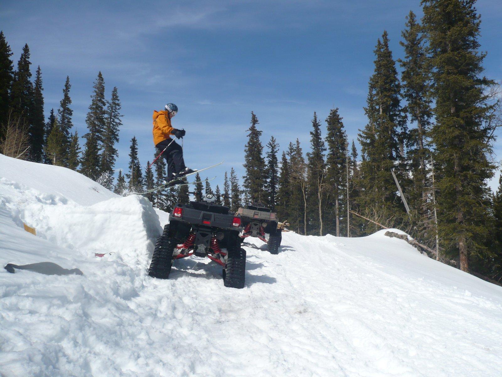 Over the ATV