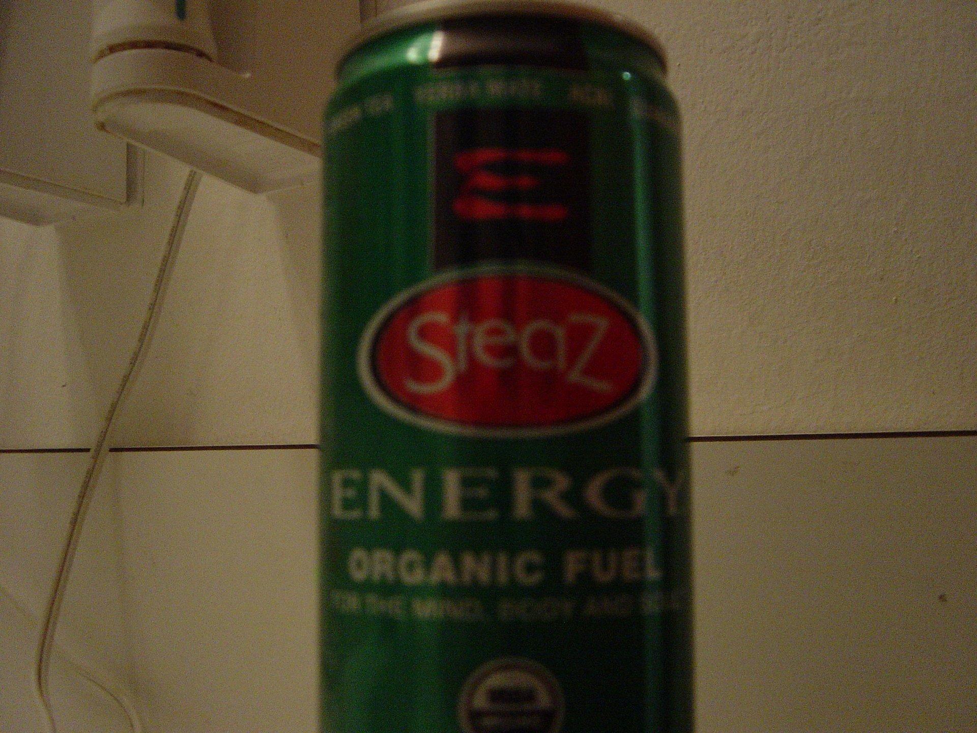 SteaZ energy drinks