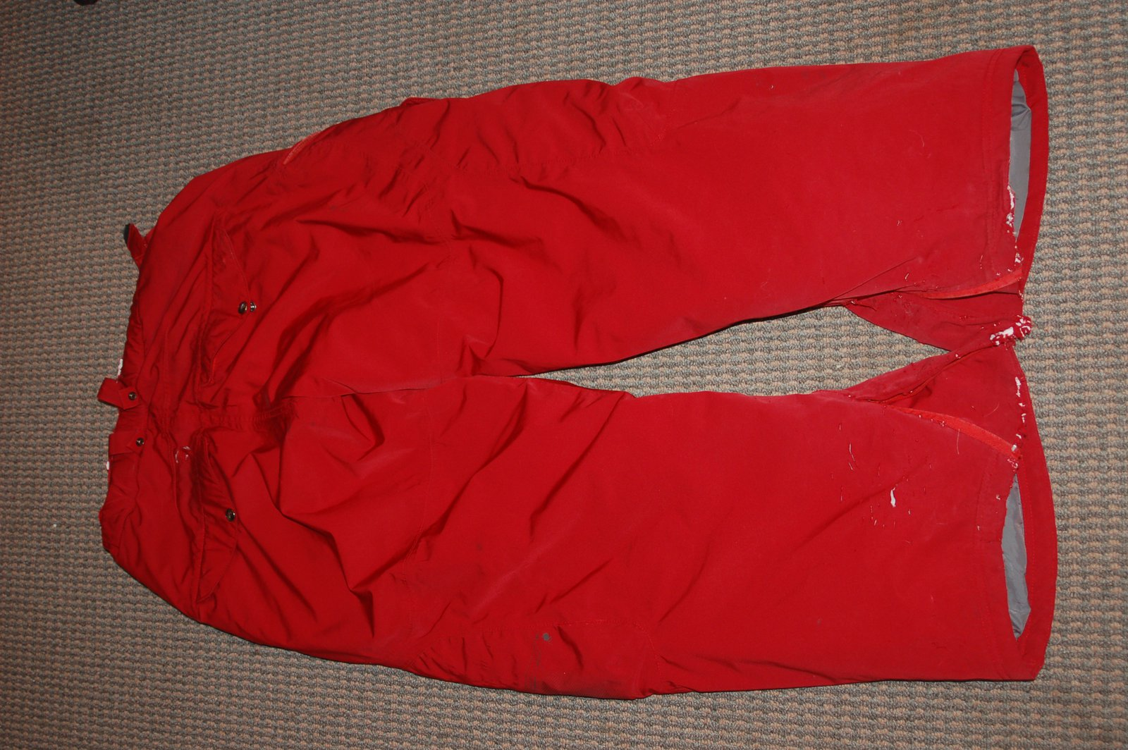 Oakley timber pant red XL FS-FT