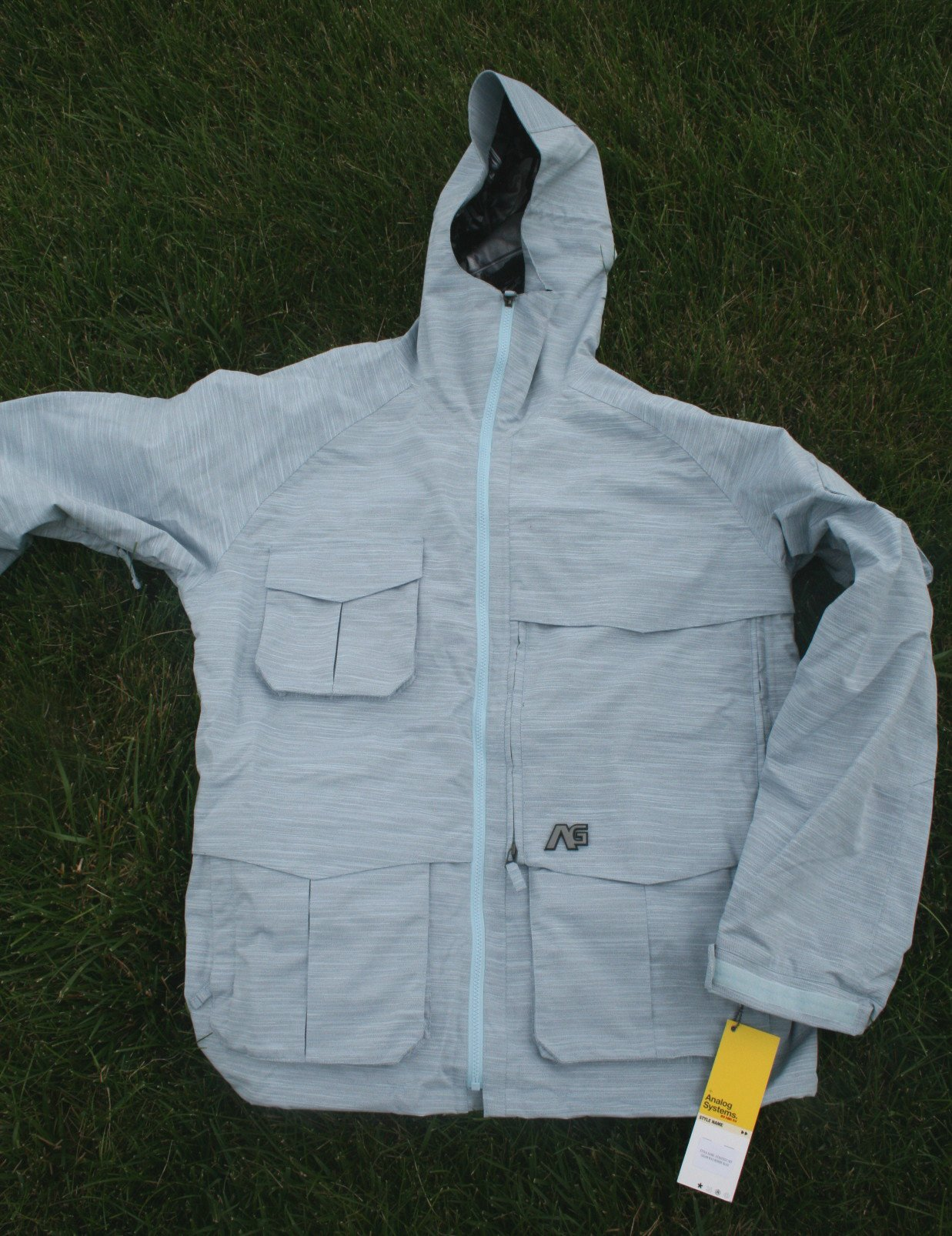 Analog strategy jacket moody blue