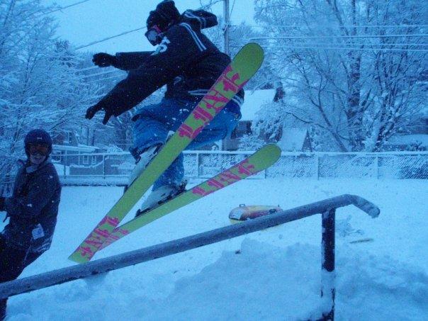 Handrail in school