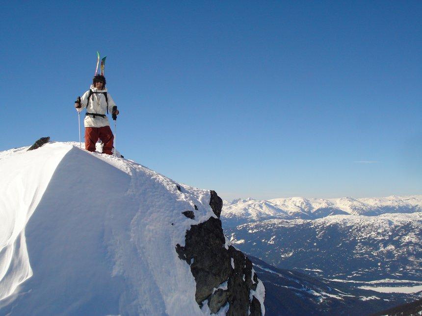 Takin' a peak