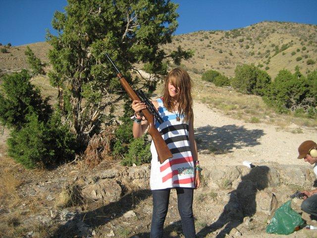 Little gun little lady