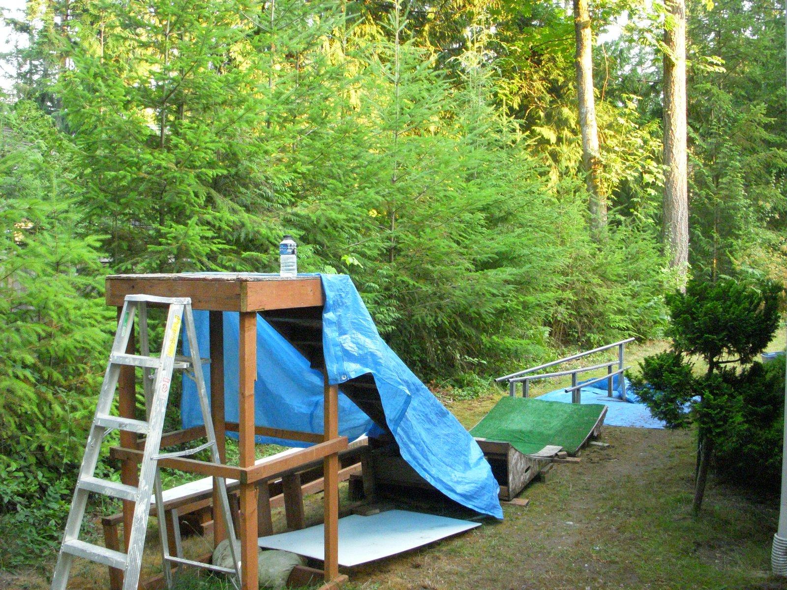Backyard Setup Different Angle