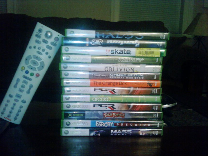 All the 360 games