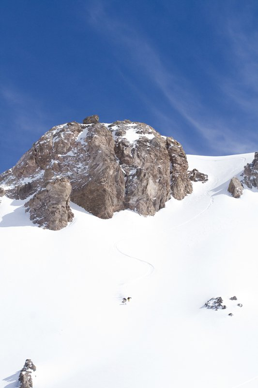 Away from valle nevado