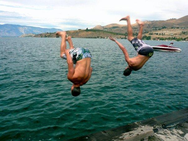 Backflips at Lake Chelan