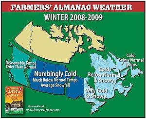 Canada forecast 08/08