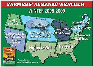 Usa forecast winter 08/09