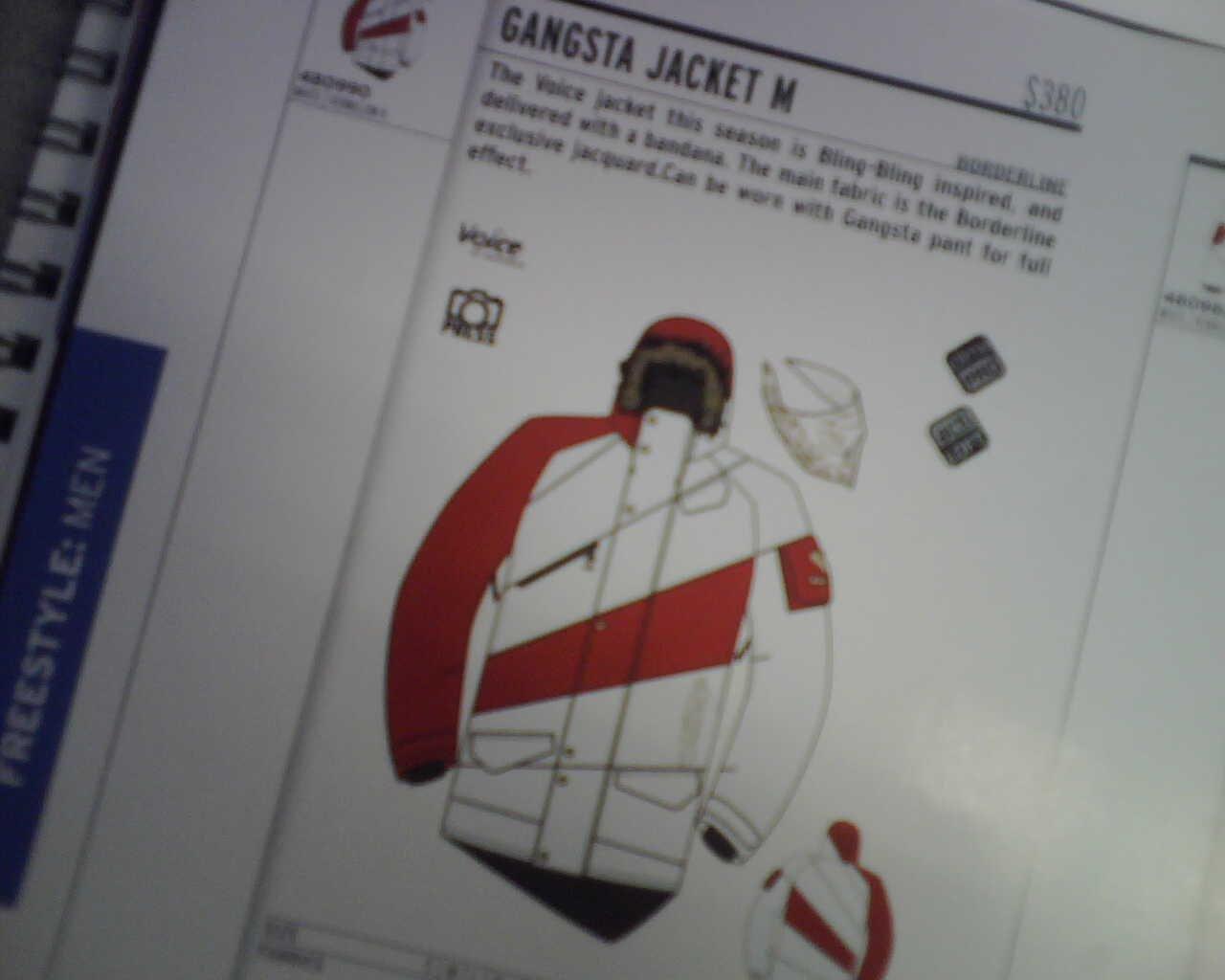 08/09 Salomon - Gangsta Jacket