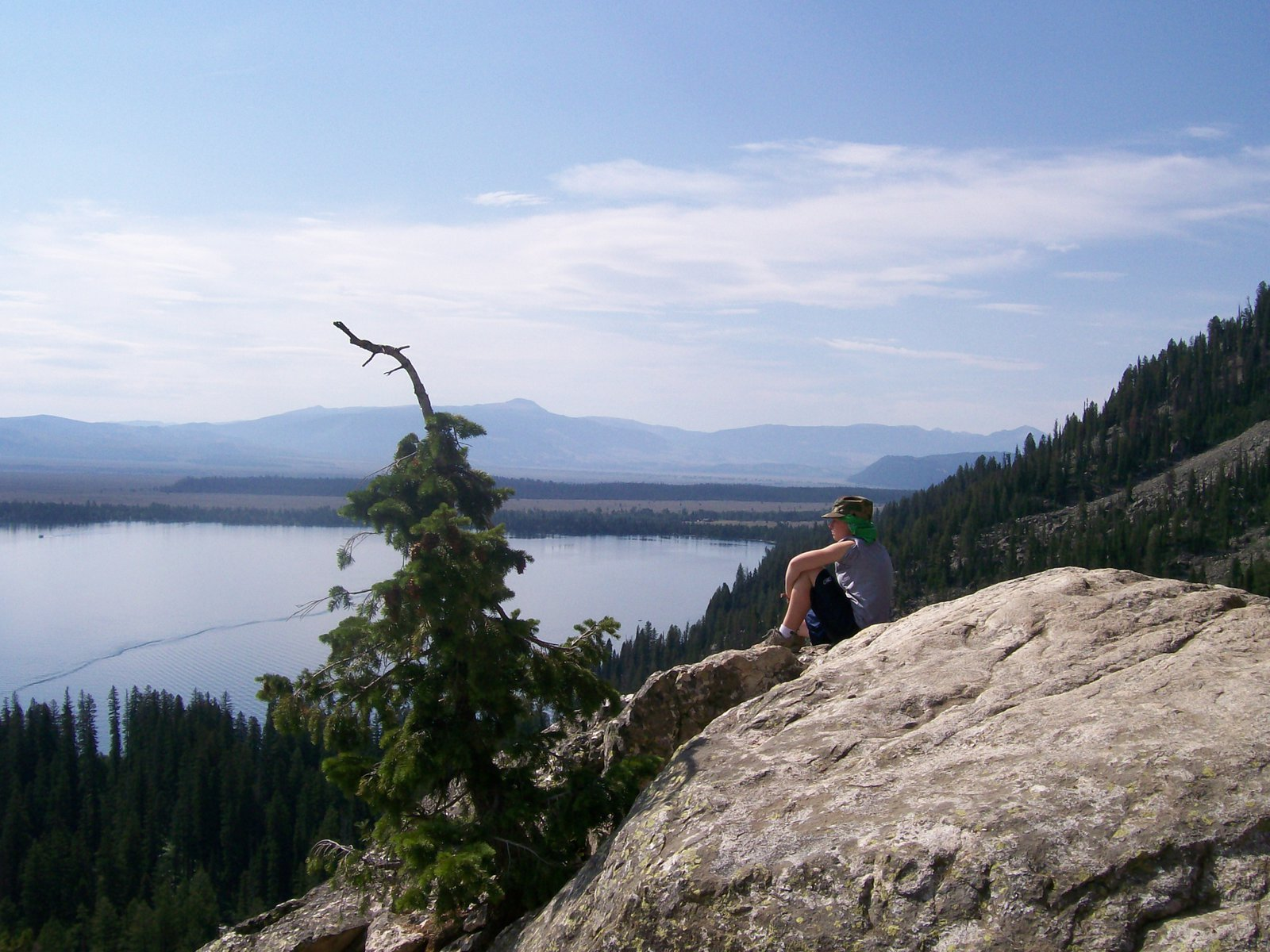 View from tetons