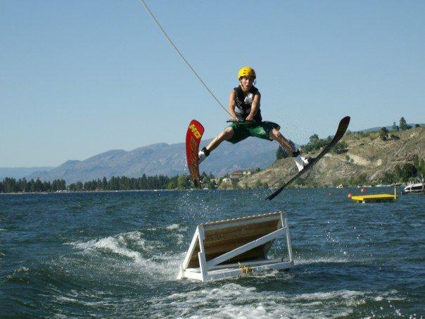 Water ski jump