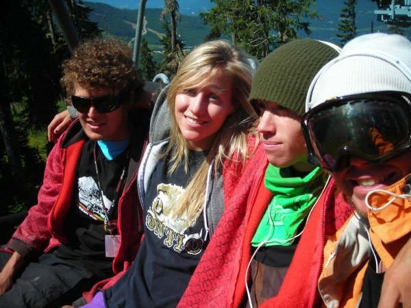 Arden,Jen, Kieran, Tyler on the chair