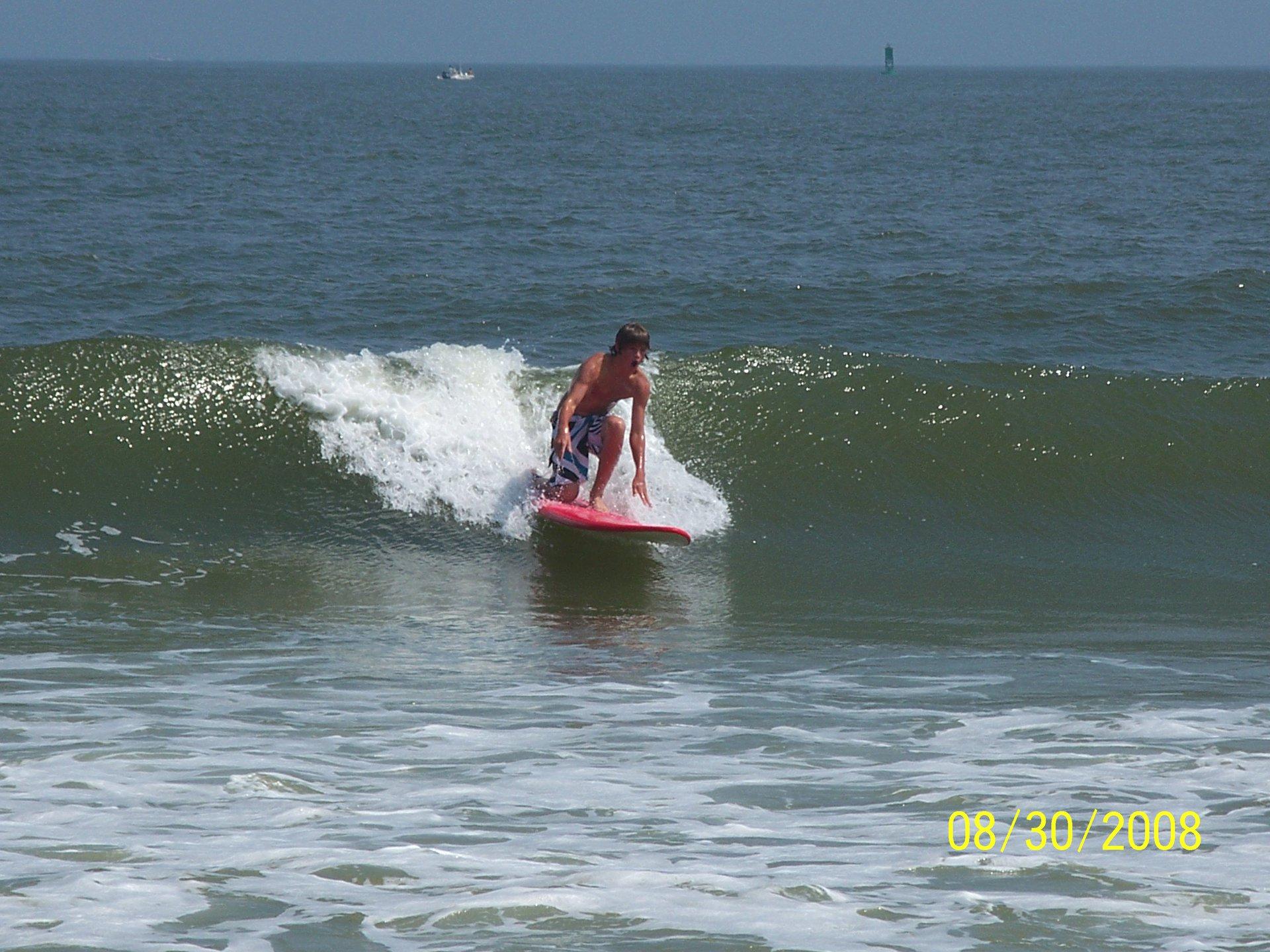 Surfing in Dela - where?
