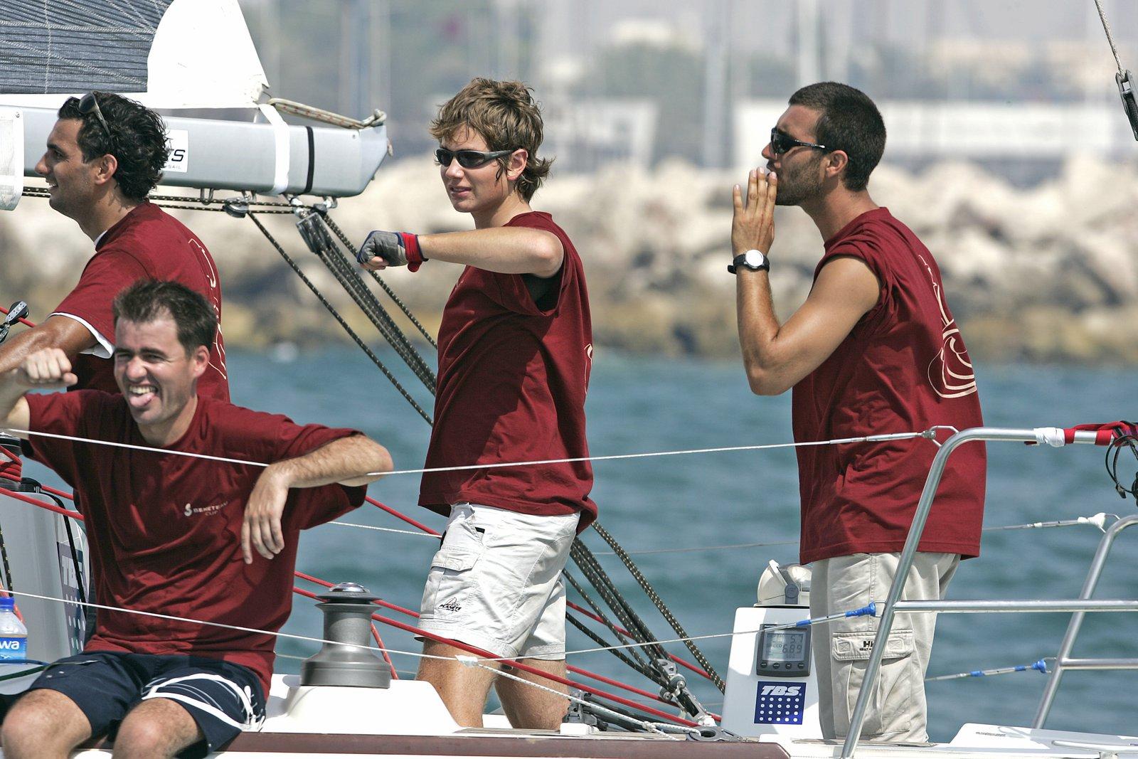 Me sailin