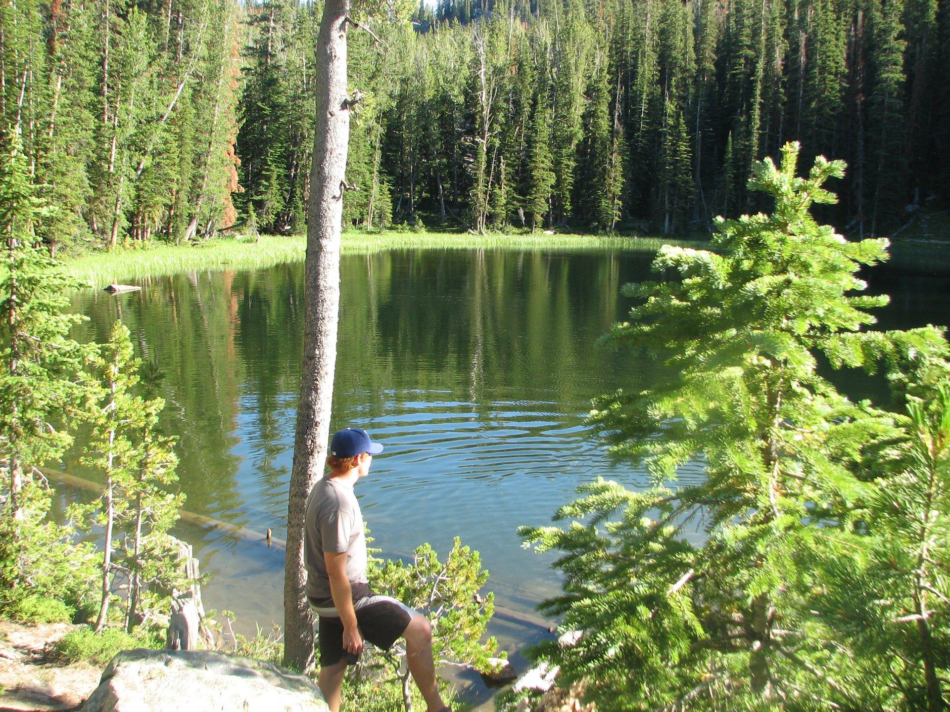 Hidden lake, gallatin mnts, mt