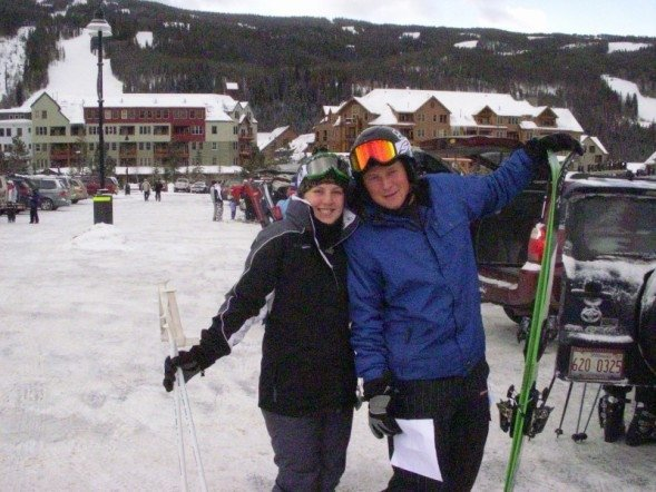 Lauren and I at Keystone