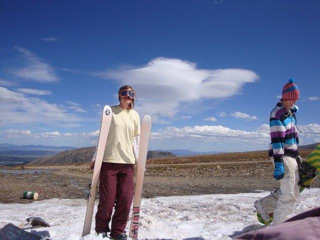 September Skiing