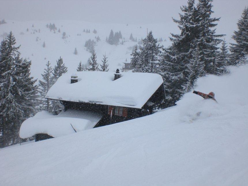 Pow in Switzerland