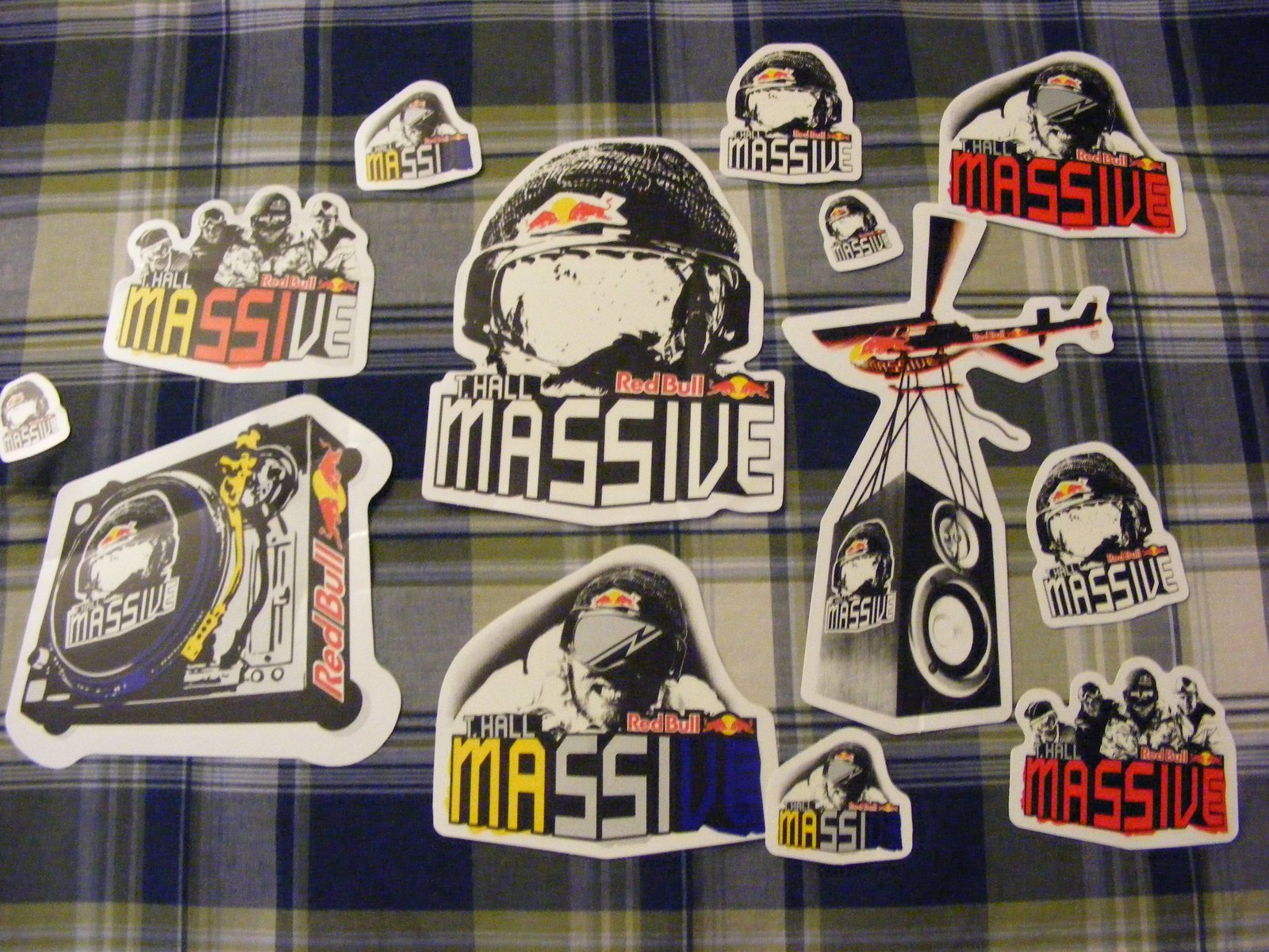 T-hall stickers