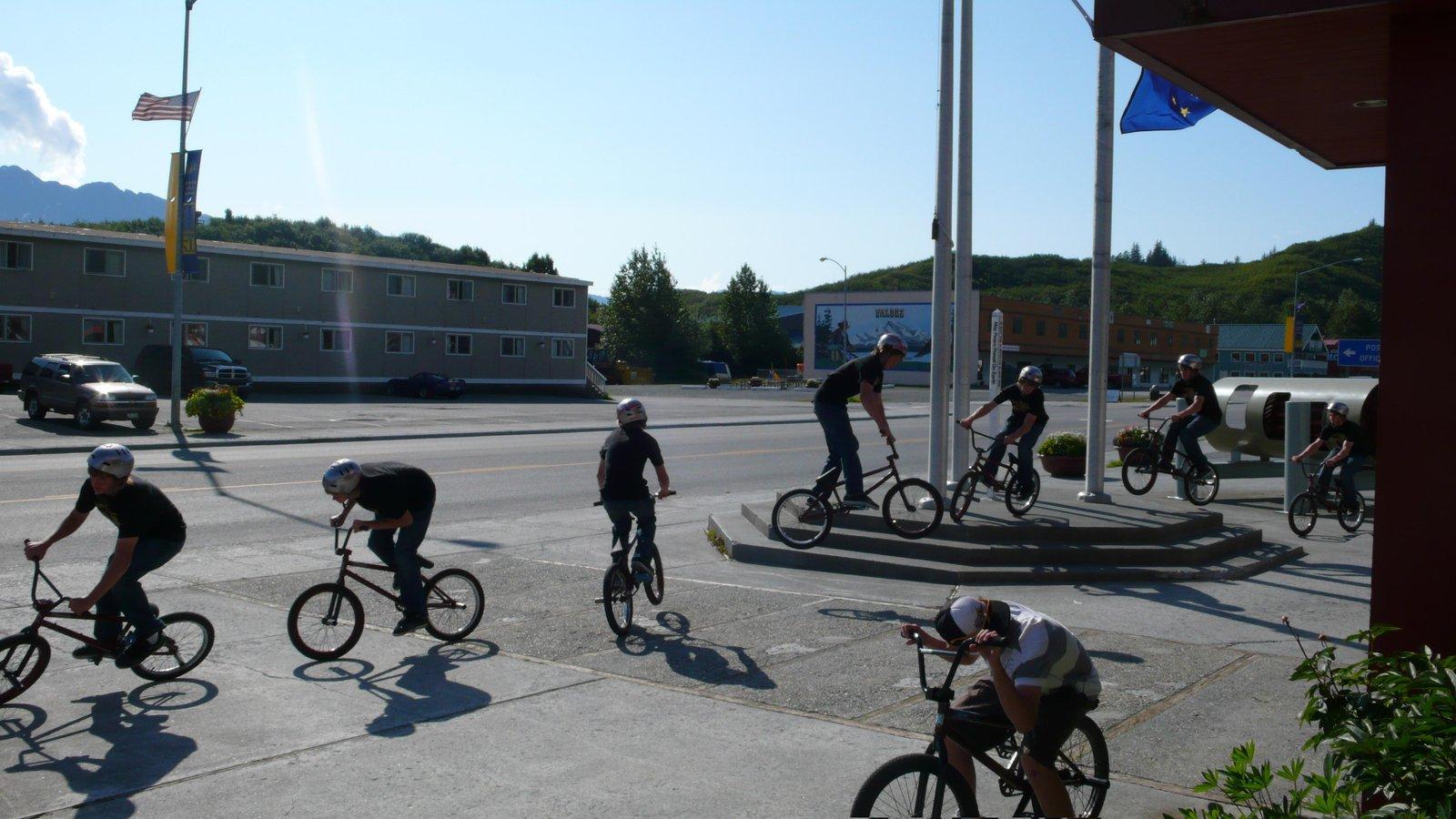 A biking sequence I made