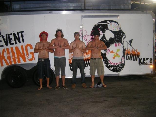 Evolution Tour Crew